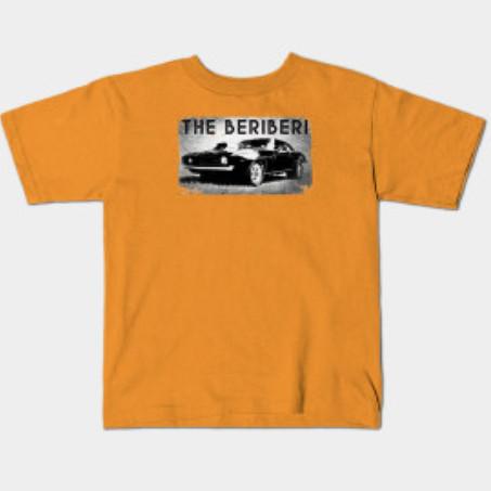 The BERiBERi Hot Rod kids tee