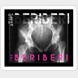 The BERiBERi xray sticker