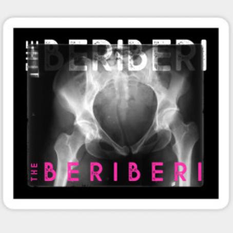 The BERiBERi xray sticker