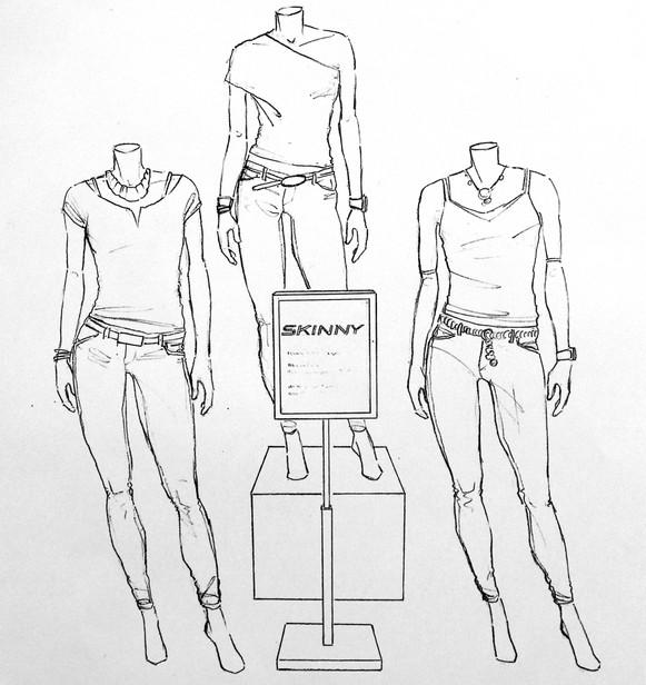 Armani Exchange interior concept