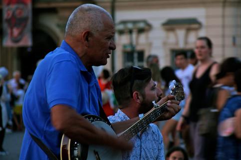 Street performers, Prague