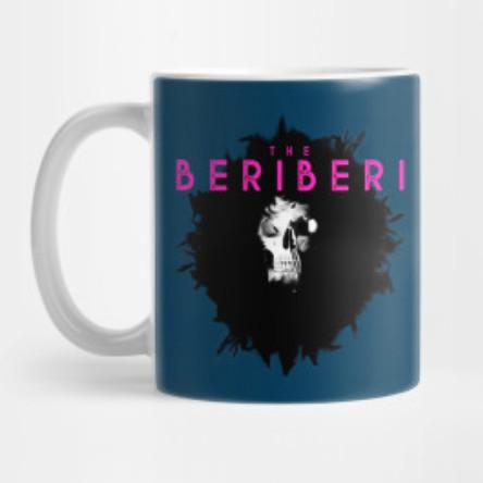 The BERiBERi skull mug