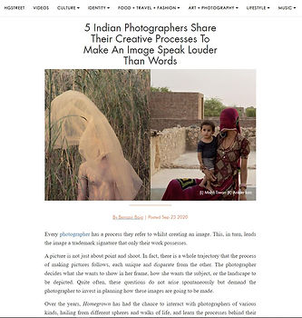 Published - HomeGrown 5 Indian Photograp