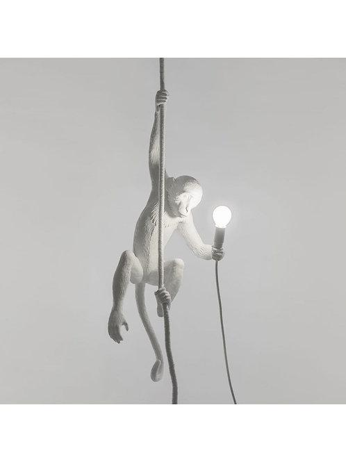 LAMPE SUSPENSION MONKEY BLANC SELETTI