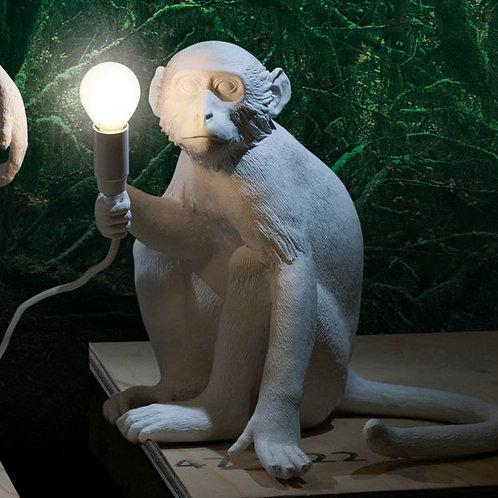 LAMPE SINGE ASSIS BLANC SELETTI