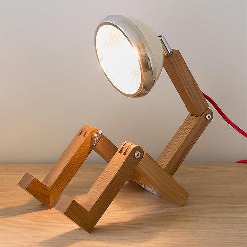 LAMPE BONHOMME IVOIRE LED