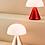 Thumbnail: LAMPE LED PORTABLE LEXON  MINA M ALU
