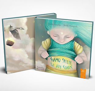 Children's books illustrator, Kids lit, picture books, Siamo stelle, Stella Maris Mongodi illustrator