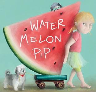 Watermelon Pip, Ethicool books, children's books illustrator Stella Maris Mongodi