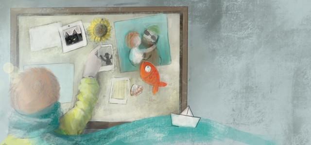 Children illustration illustrazione mindfulness