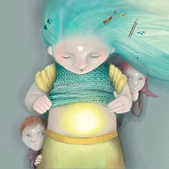 children's books illustration, picture book, illustrator Stella Maris Mongodi