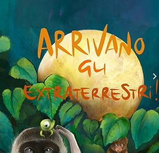 Annarella Morejon, Arrivano gli estraterrestri, Stella Maris Mongodi illustrator, children's books illustrator
