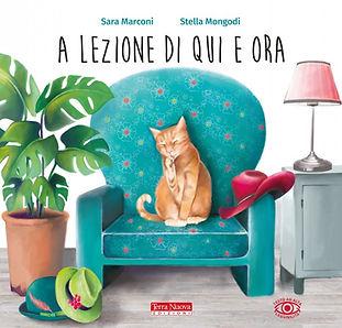 Children's books illustrator, picture books, Stella Mongodi, A lezione di qui e ora
