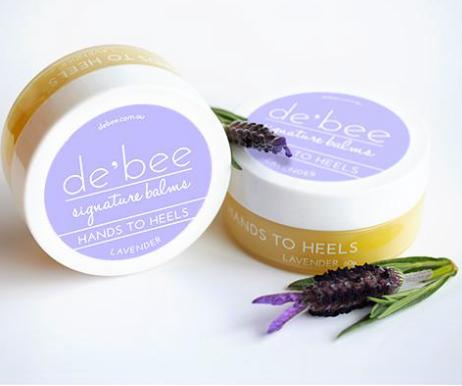 Hands to Heels - de'bee