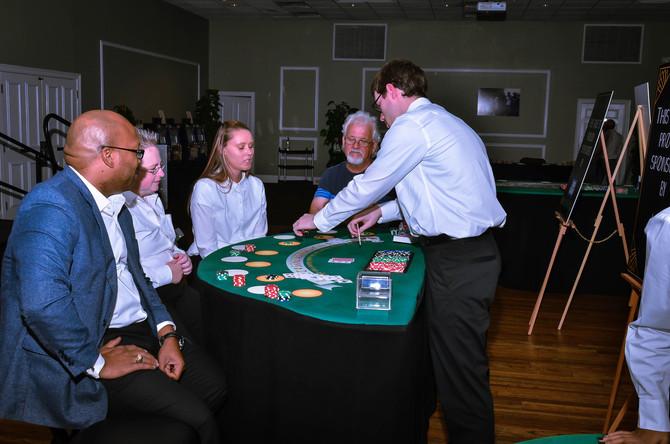Mr. Robbin's Neighborhood Casino Night