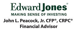 John L Peacock Jr Edward Jones RGB logo.