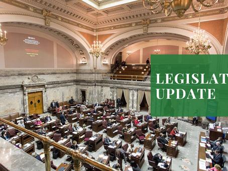 Washington Legislation Vote Update
