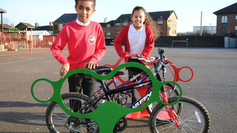 Recycling initiative wins Moorland Primary School a unique prize