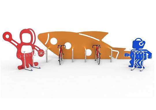 Odoni-Elwell UK Manufactured Cycle Storage. Bike stand