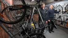 Welsh Government invests in cycle storage for staff