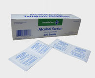 Healthcare Plus Alcohol Swabs