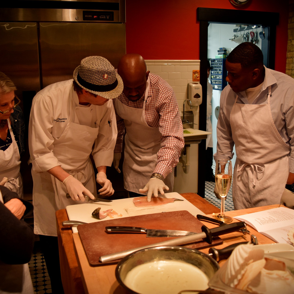 Hands-On Cooking with our Culinary Brigade