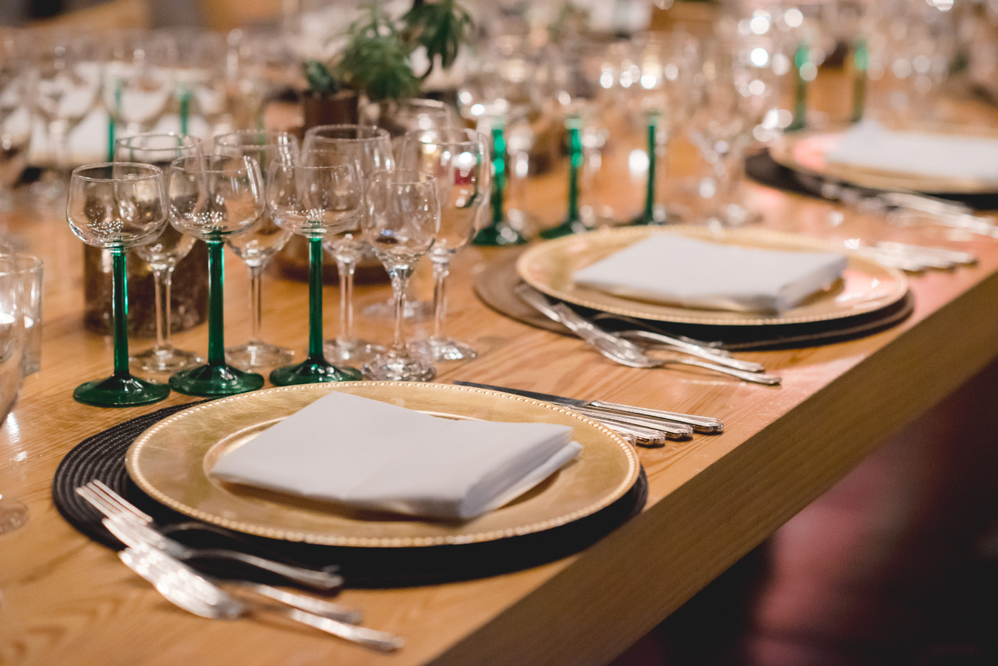 Coursed Table Setting