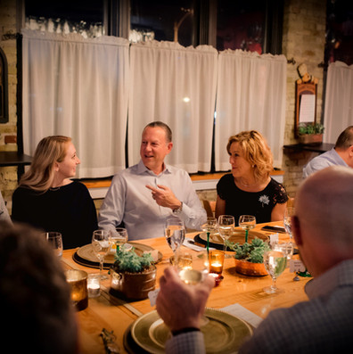 Culinary Excellence in Coursed, Seated Dinners, Intimate Date Nights & Creative Events