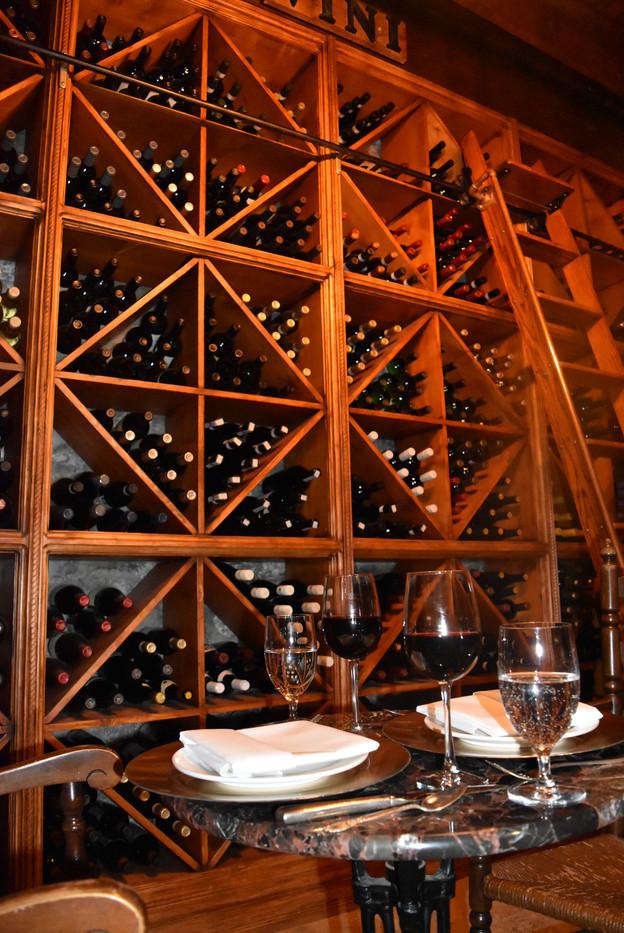 Dinner in the Wine Cellar