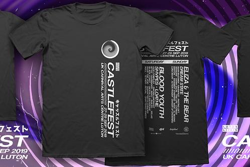 Official Castlesfest 2019 T-Shirt