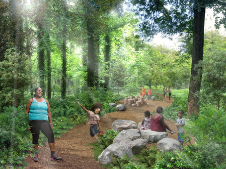 Fitness Loop Trail and Adventure Path