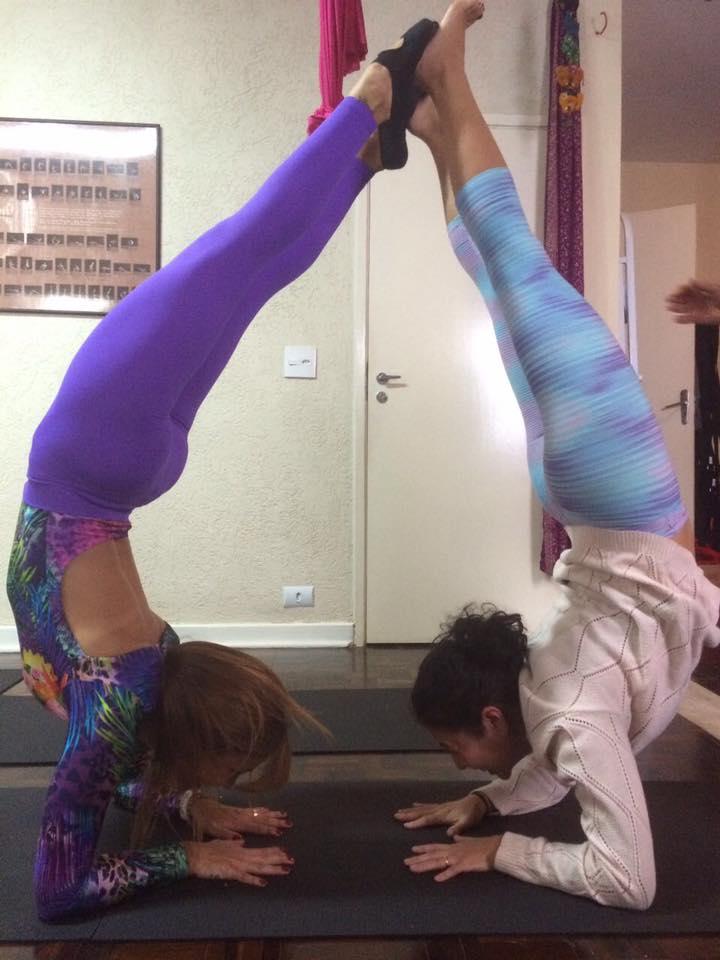 Curso de Aerial Yoga SP