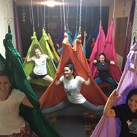 Aula de Aerial Yoga, Aula de Yoga