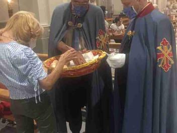 10.09.2021 - La Delegazione della Tuscia e Sabina festeggia San Nicola da Tolentino