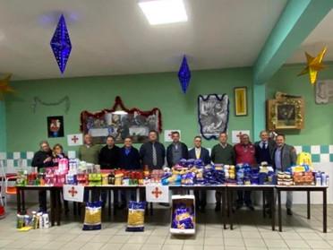 18.12.2019 - Donazione della Delegazione Piemonte e Valle D'Aosta per la Mensa dei Poveri a Torino
