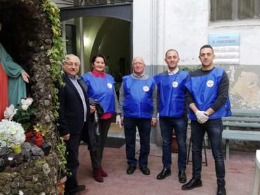 """15.12.2019 - Servizio mensile alla Mensa Fraterna """"Locanda S. Vincenzo"""" a Nola"""