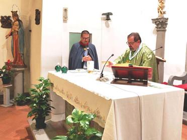 27.10.2019 - Santa Messa in suffragio dei defunti e benedizione dei mantelli della Sacra Milizia