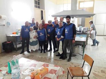 19.11.2019 - Cena per i meno fortunati presso l'Istituto del Boccone del Povero a Palermo