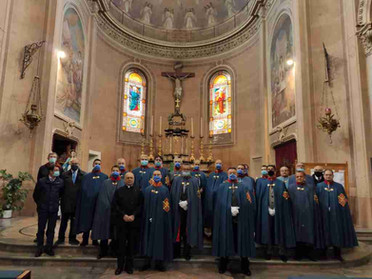 03.10.2020 - Solenne Celebrazione Eucaristica per l'Esaltazione della Santa Croce in Chatillon