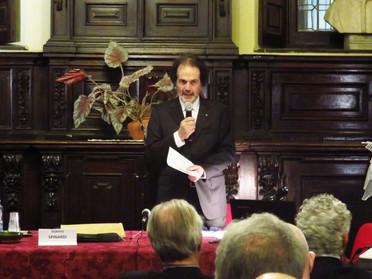 """20.02.2020 - Santa Messa e Conferenza del Maestro Giorgio Oikonomoy su """"San Giorgio nell'arte"""""""