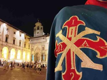 23.08.2021 – I Cavalieri della Toscana alle celebrazioni per San Donato e per l'Assunta