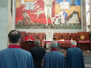 25.06.2020 - Santa Messa, confronto sulle attività e comunicazioni della Delegazione Lombardia