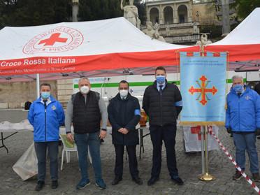 """16.04.2021 - Piazza del Popolo a Roma. Terza Edizione """"Dona il Sangue Dona una Speranza"""""""