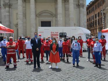 """14.06.2020 - """"Dona il Sangue Dona una Speranza"""", con il patrocinio della Delegazione Tuscia e Sabina"""