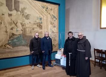 08.12.2019 - Colletta alimentare in occasione della dell'Immacolata a Napoli
