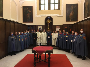 07.05.2021 – Santa Messa della Delegazione di Napoli e Campania presso il Duomo di Pozzuoli