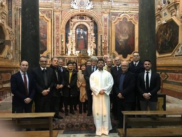 24.01.2020 - Rosario a Palermo per la Beata Maria Cristina di Savoia, Regina delle Due Sicilie
