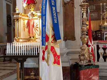 05.10.2020 - A Barrafranca Messa in suffragio di S.A.R. Don Carlos di Borbone delle Due Sicilie