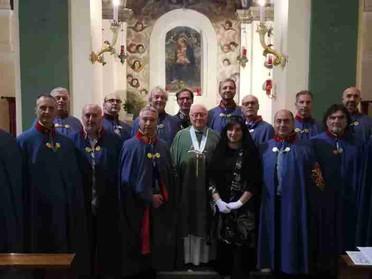 12.09.2020 - Nel Santuario di Montemarciano la Delegazione Marche e Romagna ha ripreso l'attività