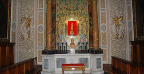 15.07.2020 - La Delegazione di Tuscia e Sabina alla Santa Messa per San Bonaventura a Bagnoregio